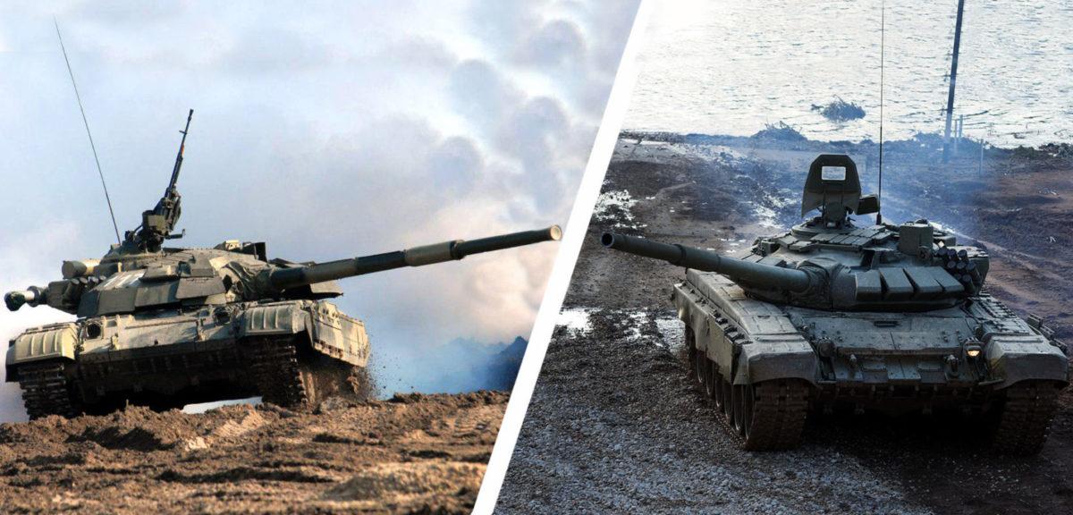 «Однокласники» зійшлись на полі бою. Т-64 VS Т-72