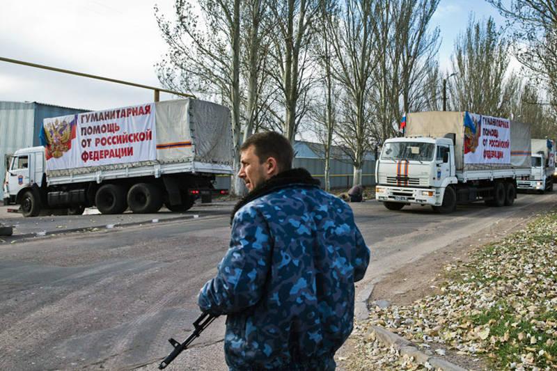 Антигуманітарні конвої Росії на Донбасі розпалюють вогнище війни
