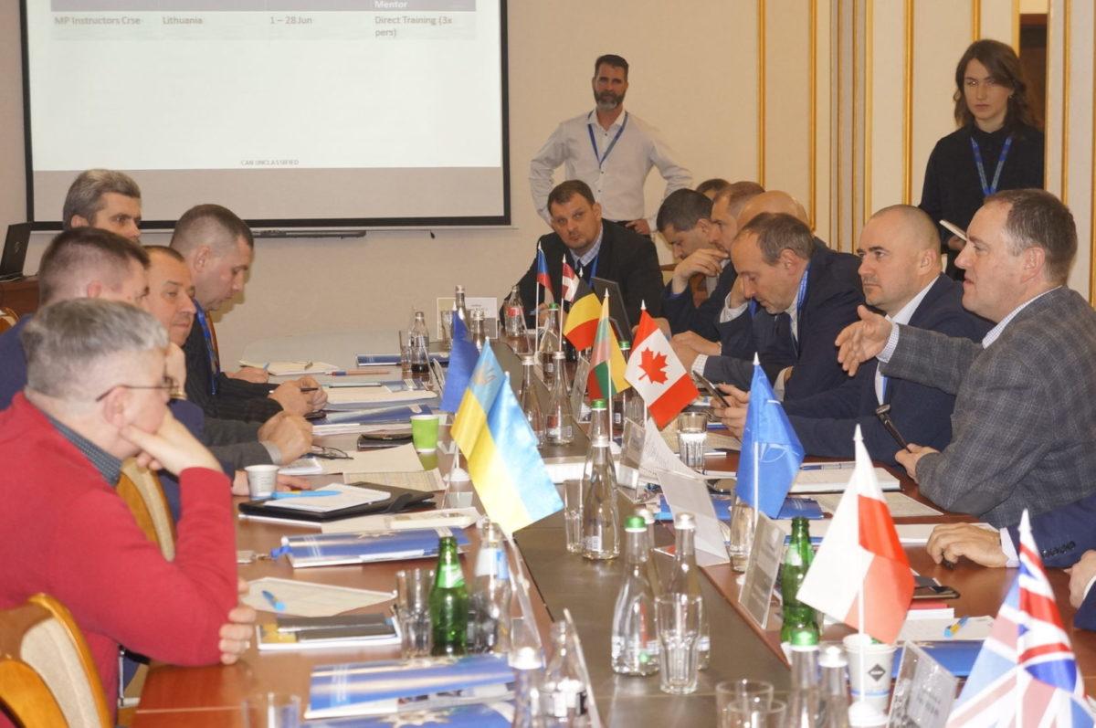 Реформування Військової поліції в Україні: думка партнерів