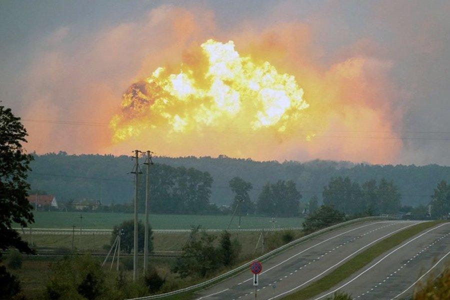 Створено комісію для розслідування вибухів на військових складах