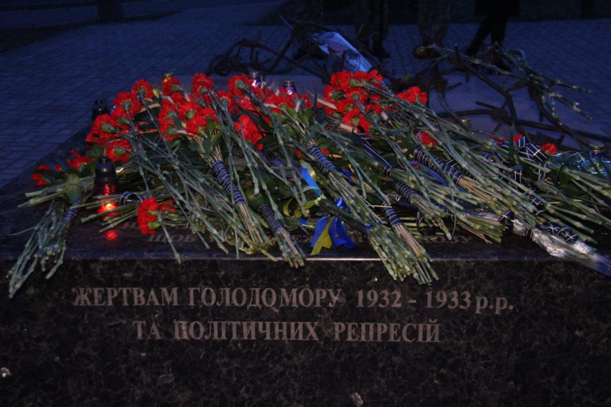 Донбас вшановує пам'ять мільйонів невинно закатованих голодом українців