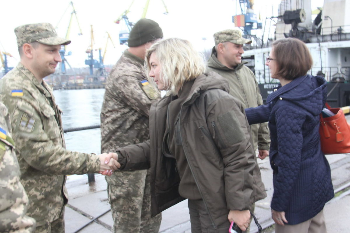 Делегація зі США ознайомилась з ситуацією в районі ООС