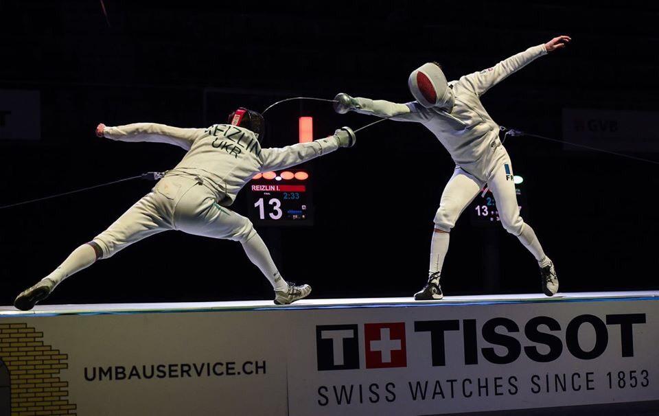 Український шпажист у фіналі переміг росіянина та здобув «золото» на етапі Кубка світу у Швейцарії