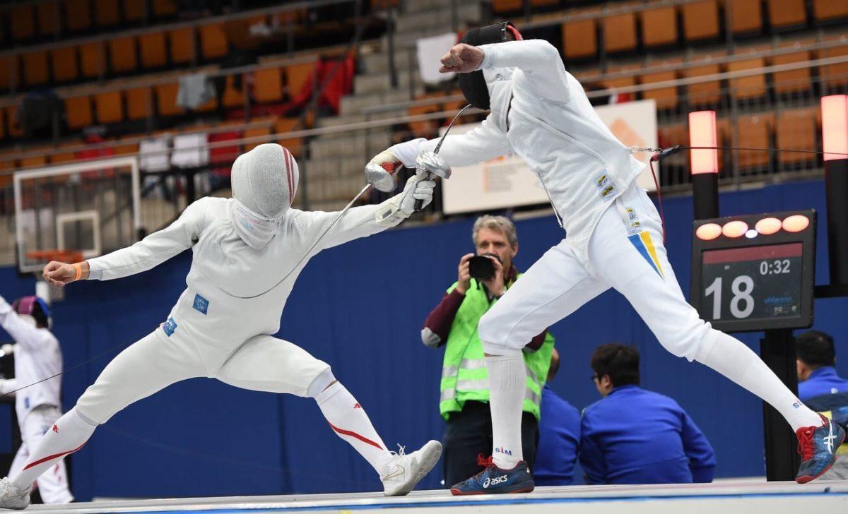 Жіноча та чоловіча збірні з фехтування—бронзові призери етапів Кубків світу