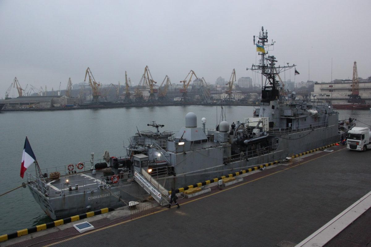 Корвет ВМС Франції F796 Commandant Birot зайшов до Одеси