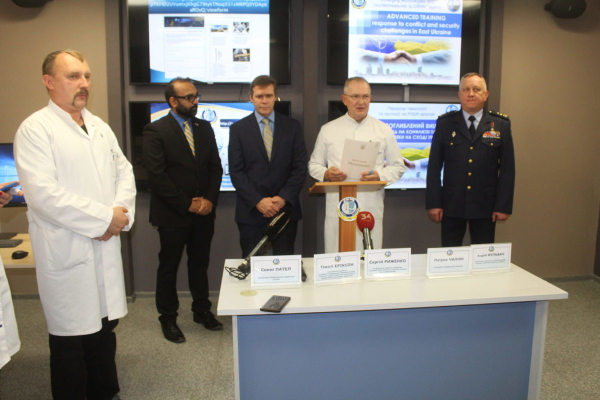 У Дніпрі розпочався поглиблений науково-практичний тренінг NATO Science for Peace and Security Programme
