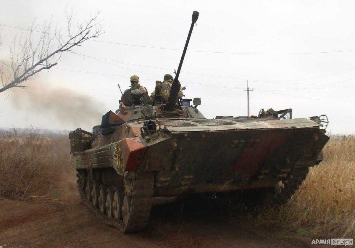 Білі сигнальні ракети з обох сторін дали старт розведенню військ на Донбасі