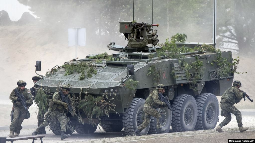 «Залізний вовк-2019»: у Литві тривають військові навчання за участю 11 країн НАТО