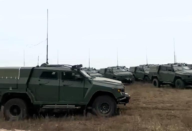 Декілька десятків СБА «Новатор» надійшли до війська