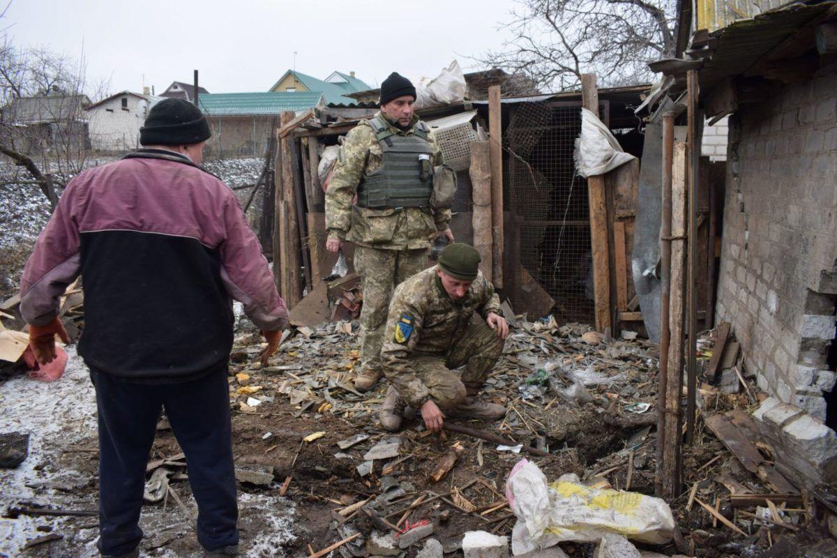 Два роки тому ворог із «Градів» обстріляв мирне село Новолуганське