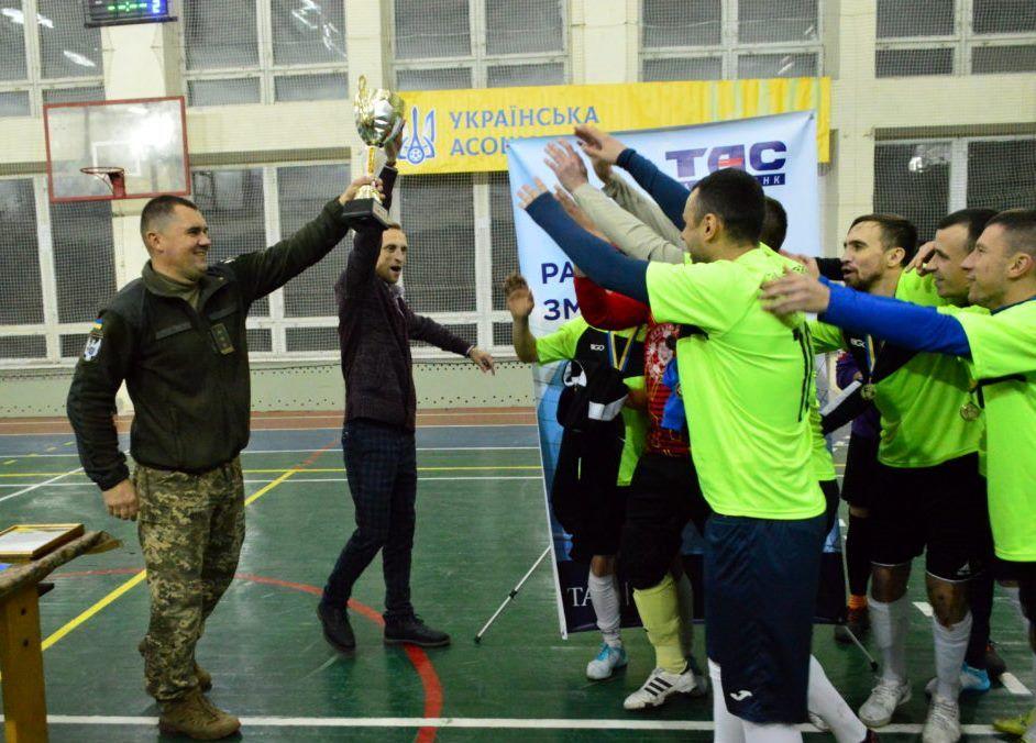 До Дня Збройних сил України у Києві відбувся турнір з міні-футболу «Кубок Захисника – 2019»