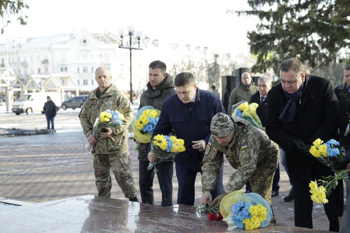 Ми пишаємося вами! – військових в Чернігові привітали з професійним святом