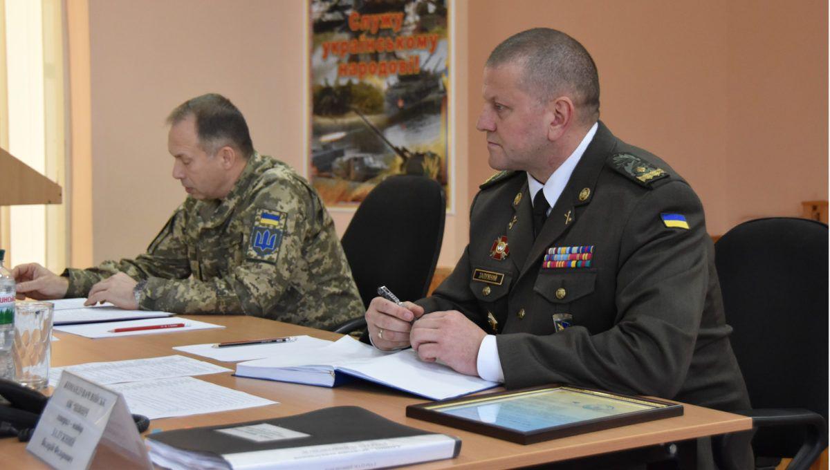В ОК «Північ» новий командувач – генерал-майор Валерій Залужний