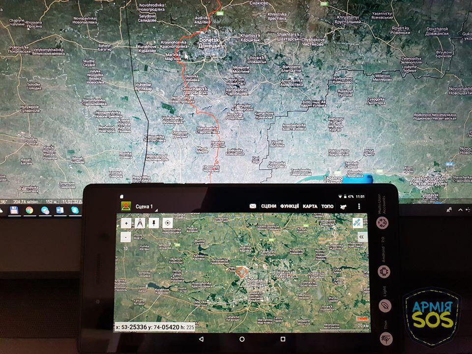 Волонтери Армія SOS передали військовим понад 10 тисяч планшетів