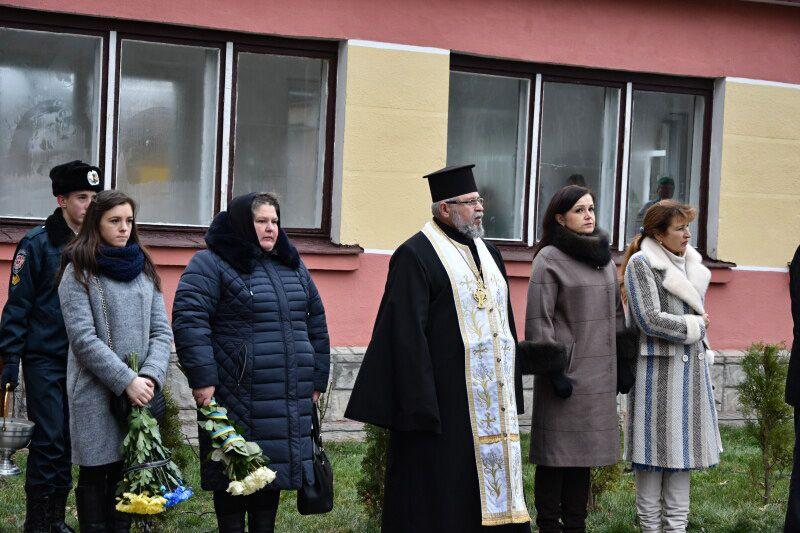 У Луцьку увічнили пам'ять Героя України