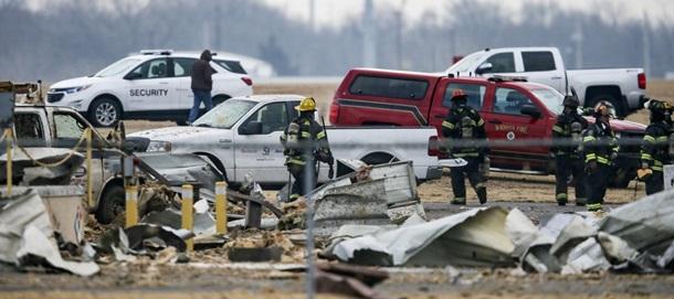 На авіабудівному заводі в США стався потужний вибух