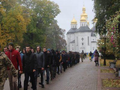 Чернігівщина завершила призов громадян на строкову службу