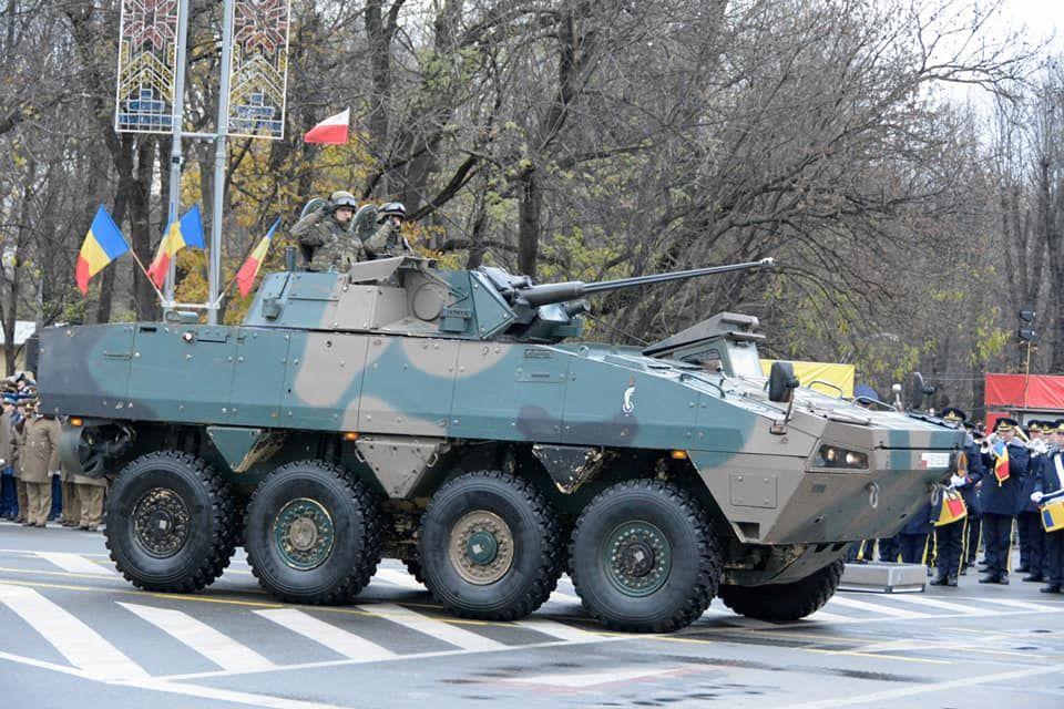 Делегація ЗС України взяла участь у військовому параді з нагоди Національного Дня Румунії