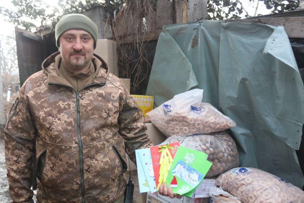 На фронт прибули подарунки від «Українського козацтва»