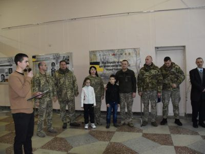 «Від борців за волю − до захисників України» −  у Чернігові розпочала роботу пересувна виставка