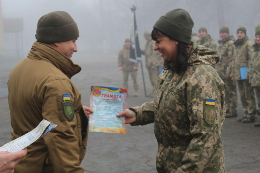 На передовій військових привітали з Днем Сухопутних військ ЗСУ