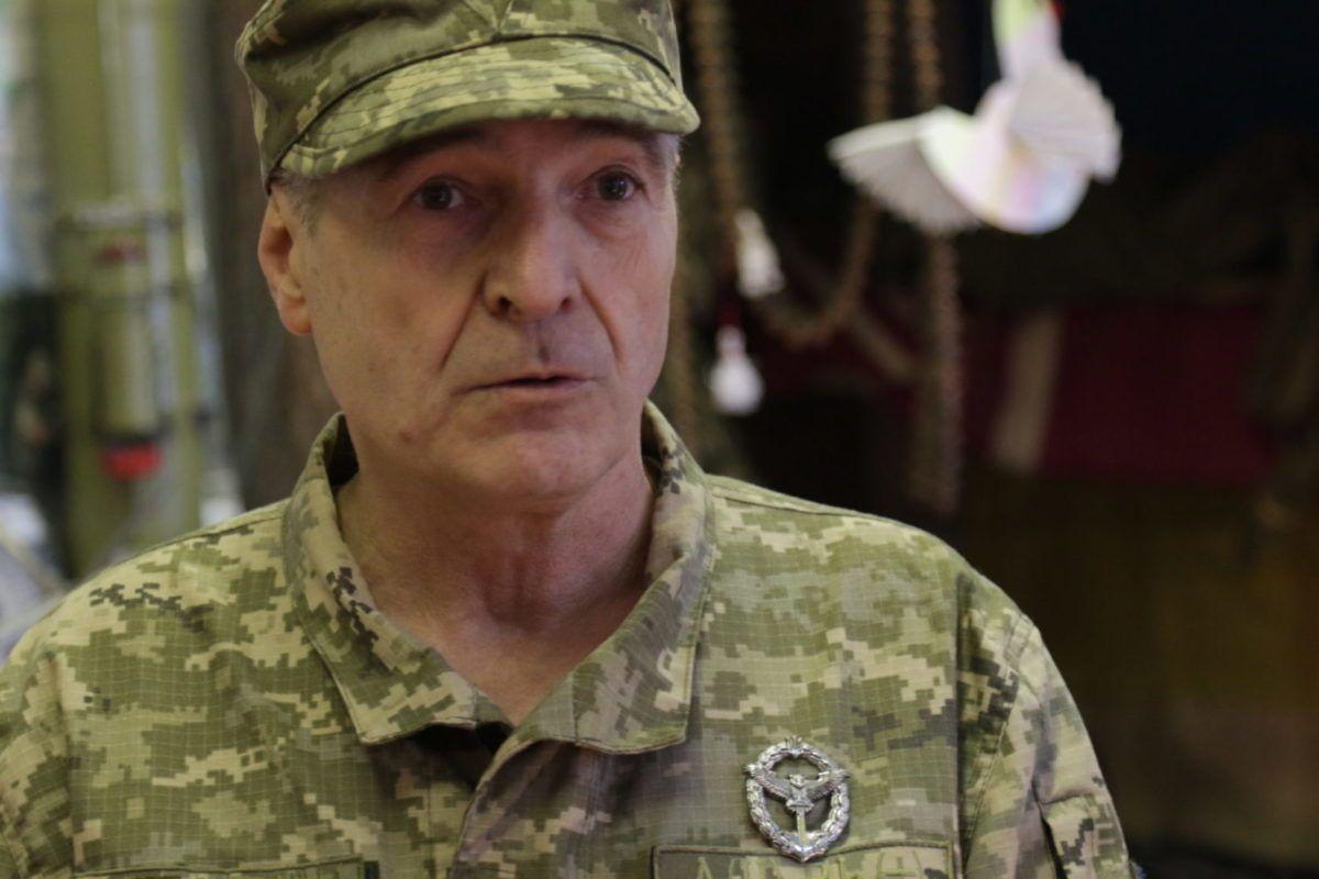 Голова громадської спілки «Спілка ветеранів» Олександр Ушинський вітає з Днем ЗСУ