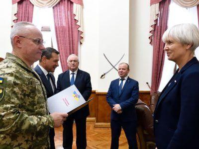 Представники Національного олімпійського комітету України завітали до Генерального штабу Збройних Сил України