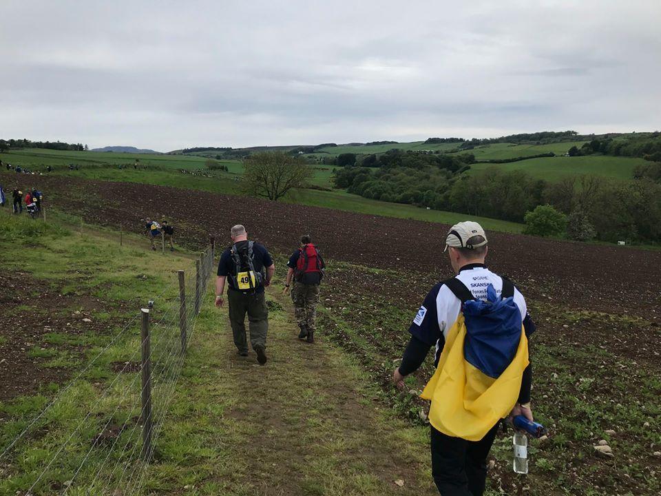 Відбір ветеранів для участі у марш-кидку в Шотландії влітку 2020 року