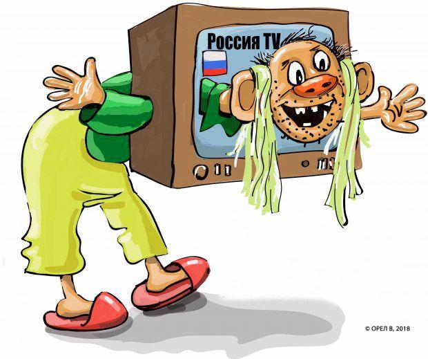 Російським пропагандистам іноді самим соромно за брехню. Але не брехати вони вже не можуть