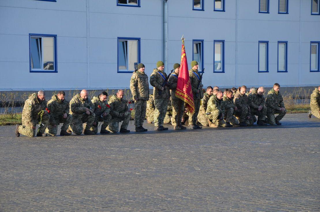 На Одещині відкрили меморіальний комплекс загиблим морським піхотинцям