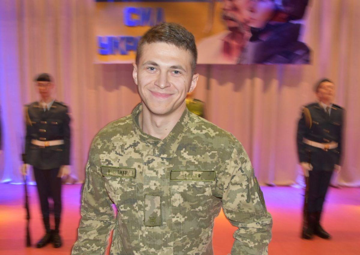 Харківський курсант отримав орден «За мужність» від Президента України