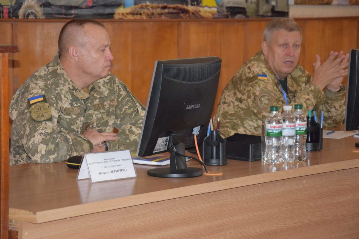 В Одесі проведено збір  оперативних чергових Повітряних Сил