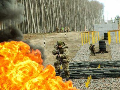 На Львівщині збудовано унікальну «Смугу перешкод підрозділів військової розвідки»