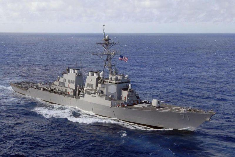 Літаки Росії зімітували ракетний удар по есмінцю США поблизу Одеського порту