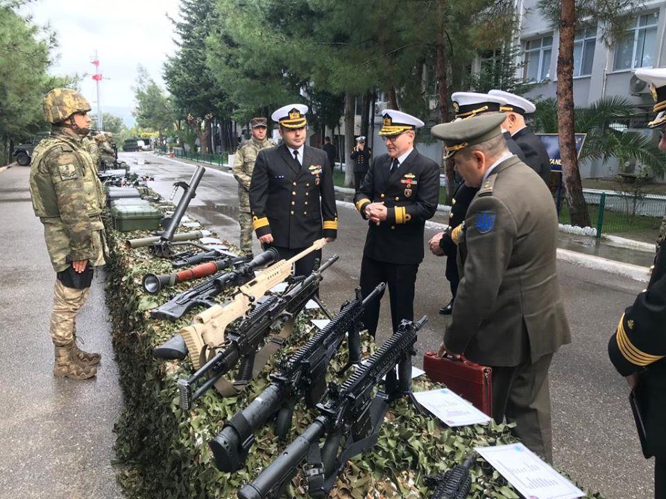 В Туреччині завершився робочий візит делегації на чолі з командувачем ВМС ЗС України