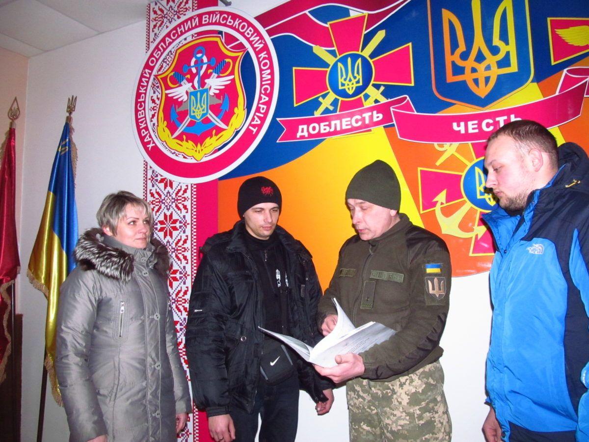 Протягом 2019 року понад 1900 мешканців Харківщини стали воїнами-контрактниками