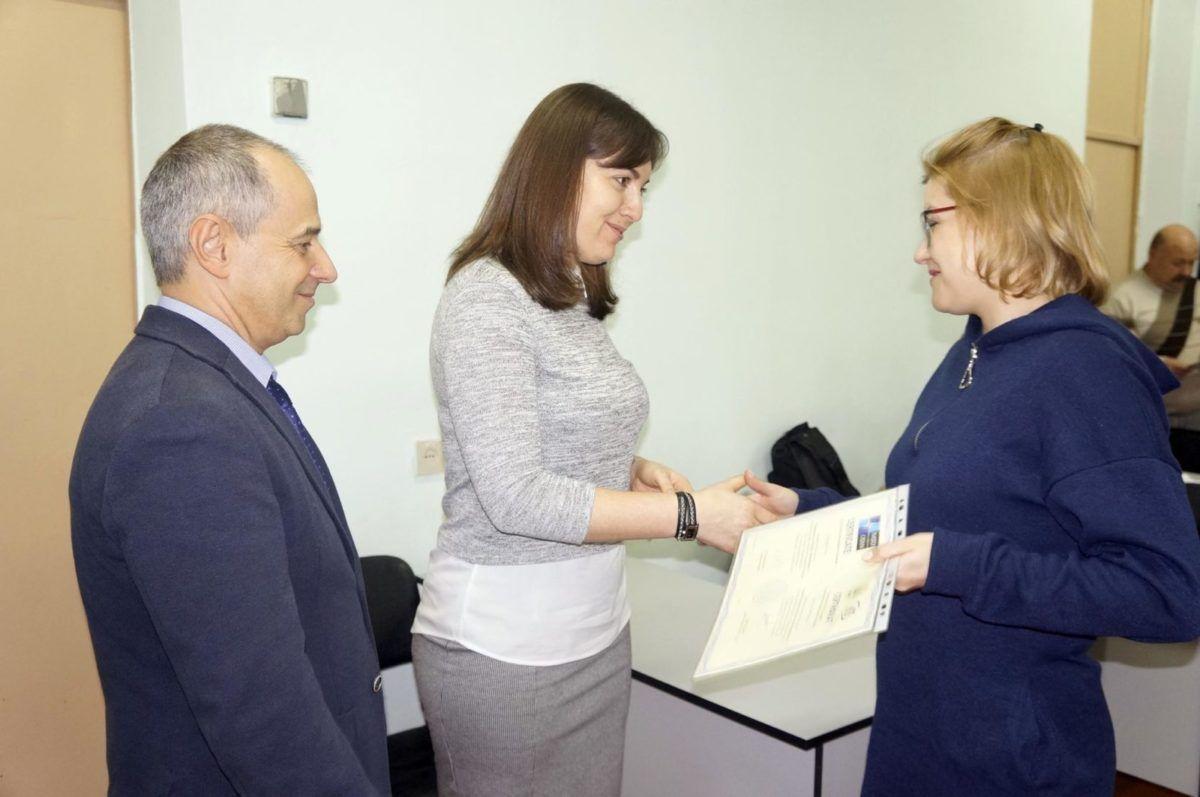 Ексармійці пройшли перепідготовку за підтримки НАТО