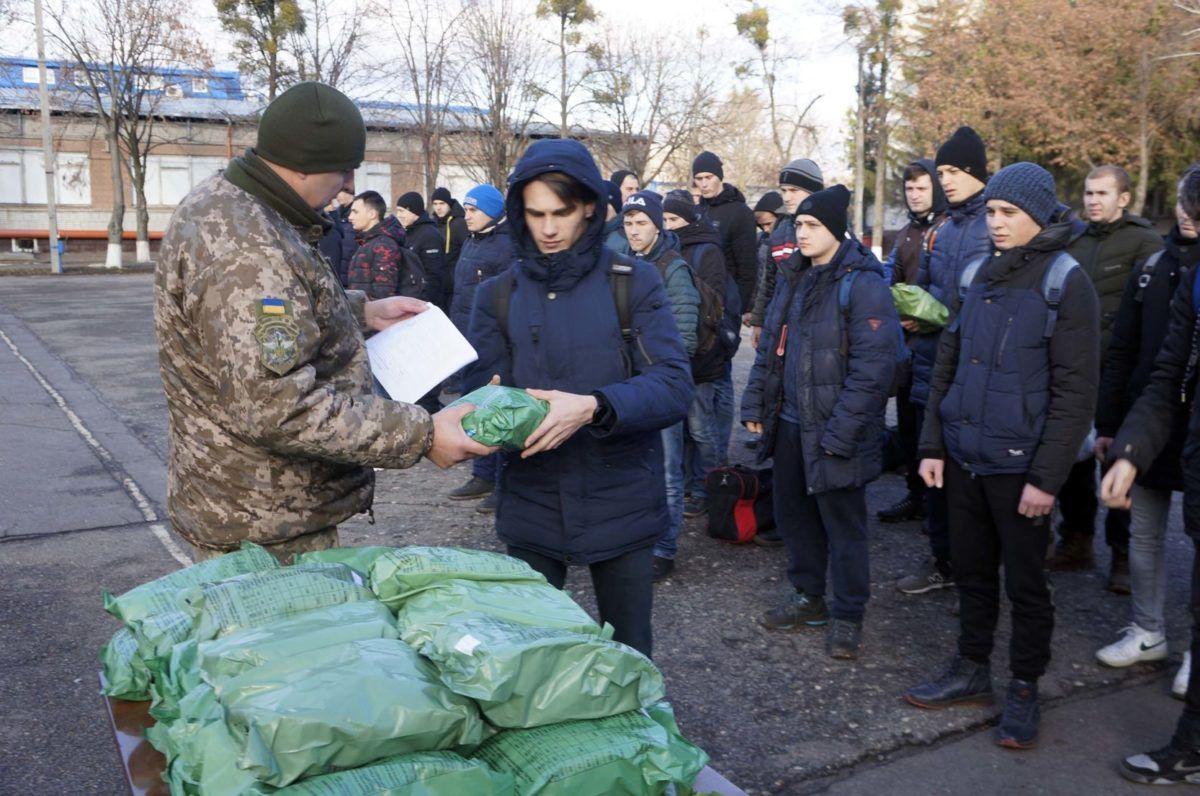 «Крапка» у осінній призовній кампанії на Харківщині