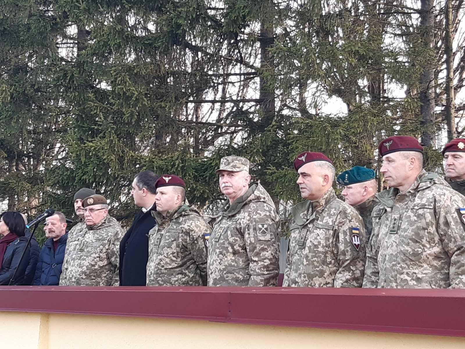 Легендарна 80-та бригада святкує сорокаріччя