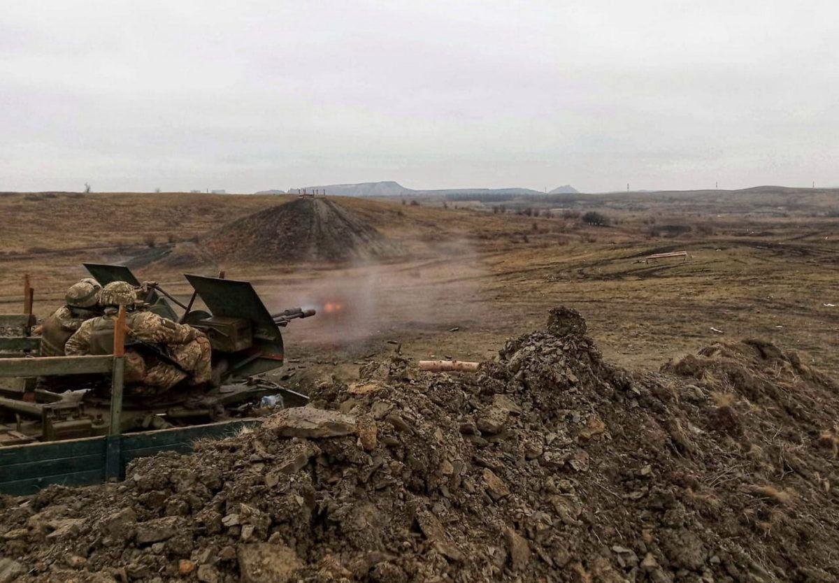 Зенітники знищують безпілотники та бронетехніку противника