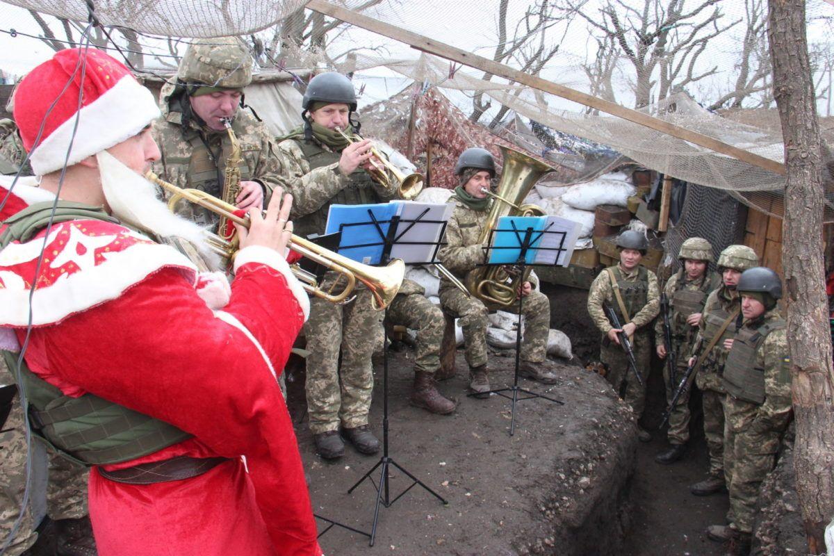 Над лінією фронту лунають звуки Jingle Bells