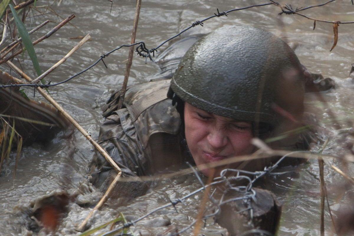Морські піхотинці випробували новобранців