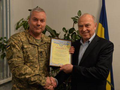 Генерал-лейтенант Сергій Наєв відвідав редакцію газети «Голос України»