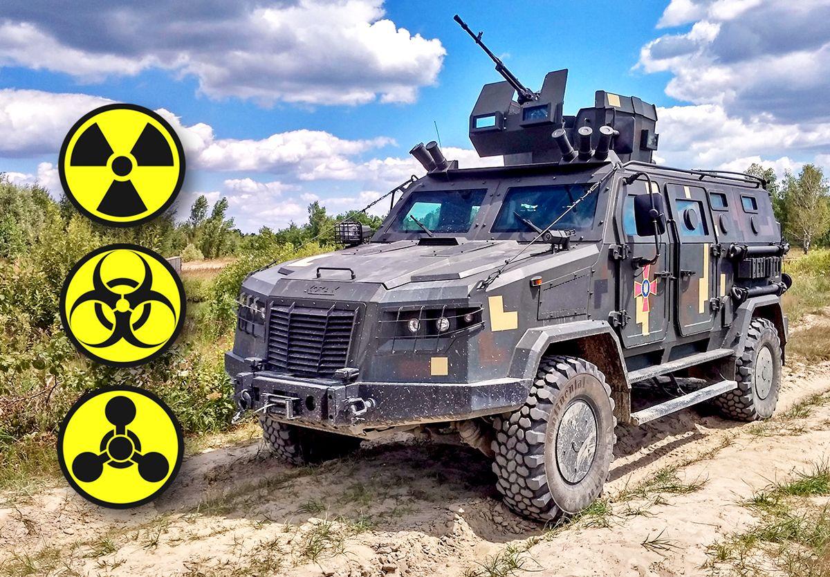 На базі «Козак-2М» створюють нову машину РХБЗ
