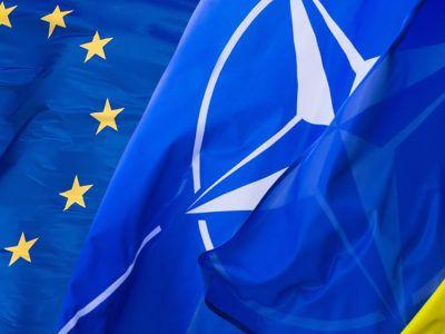 Загальнонаціональне опитування: понад 60% українців – за вступ України до ЄС, 51% – до НАТО