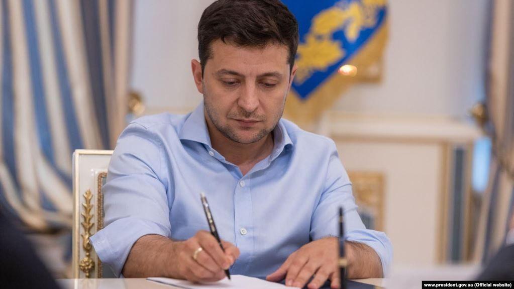 Президент підписав закон про продовження особливого статусу Донбасу