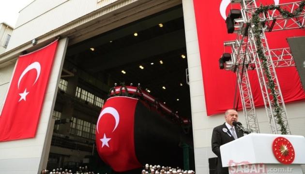 Військовий флот Туреччини поповнила нова субмарина