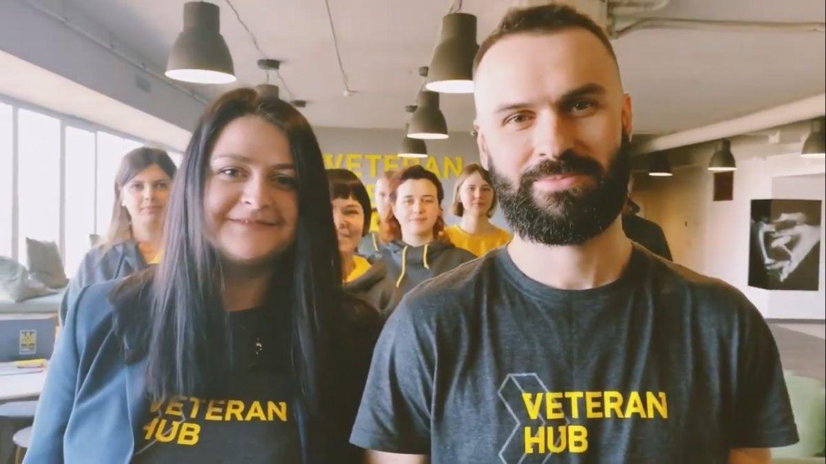 Із Днем ЗСУ вітає Veteran Hub