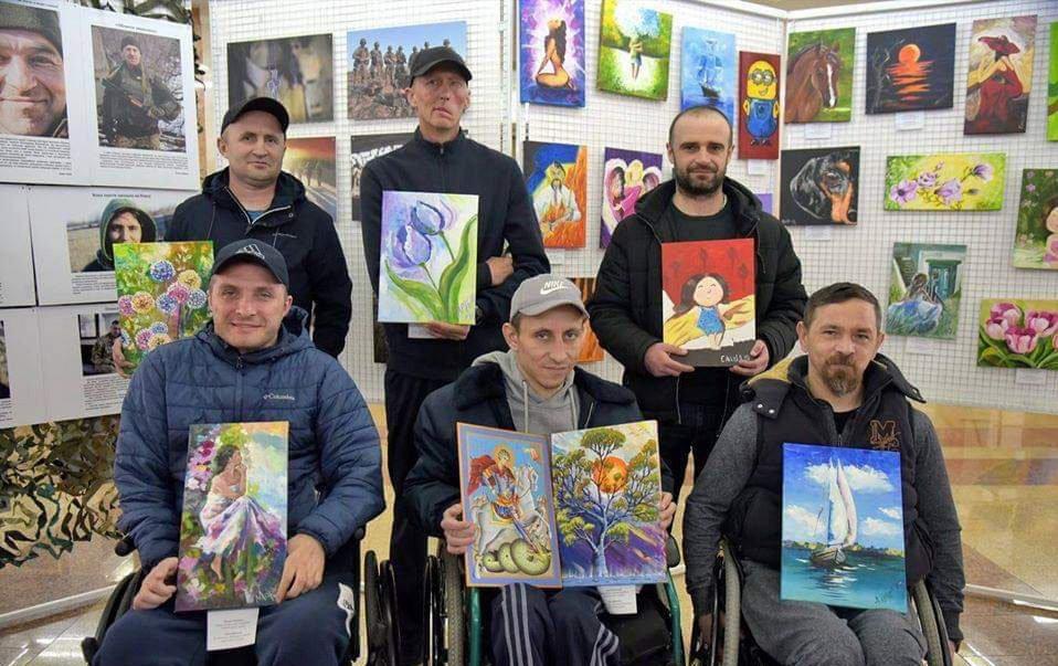 У Португалії презентують картини українських бійців
