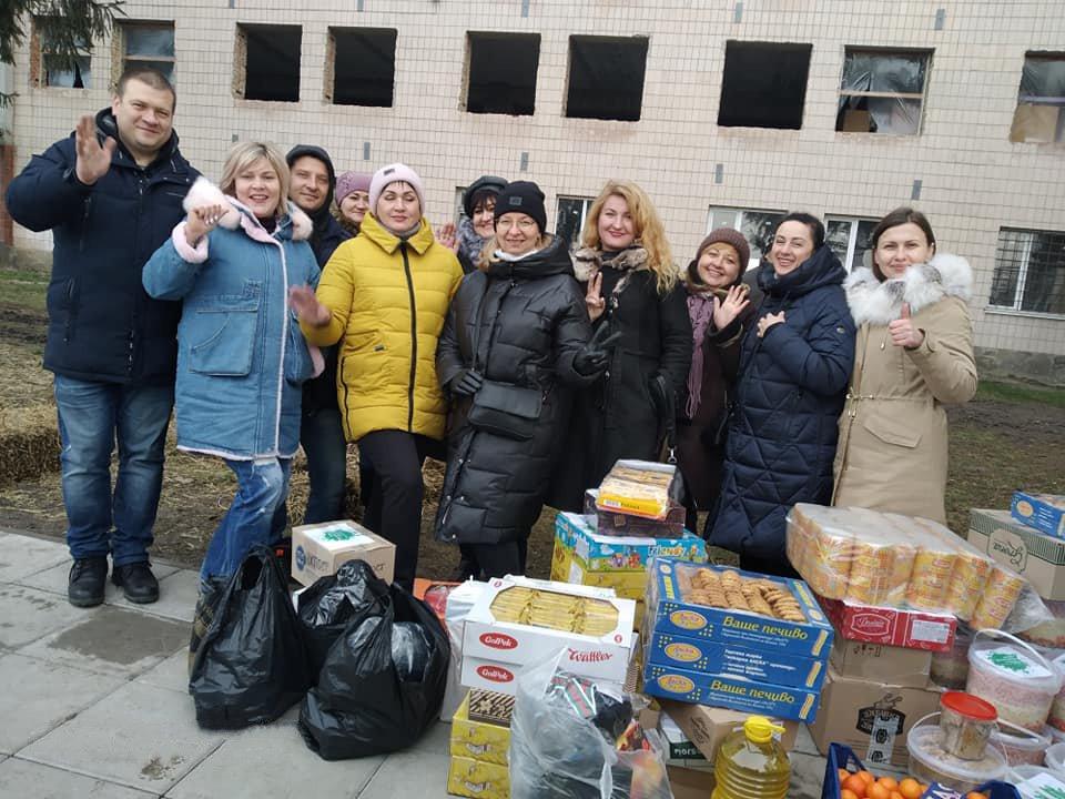 На Різдво лучани приготували 300 кг «олів'є» для українських бійців
